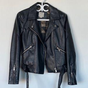 VERO MODA Vegan Leather Moto Jacket